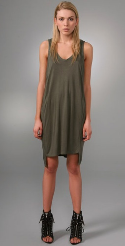 Alexander Wang Paneled Tank Dress