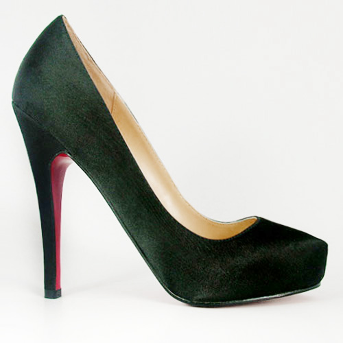 Christian Louboutin Delic Satin Green Pump
