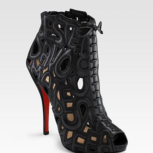 Christian Louboutin Let Me Tell You Ankle Boots