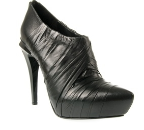 Alexander Wang 'anya' Folded Leather Shoe-boots