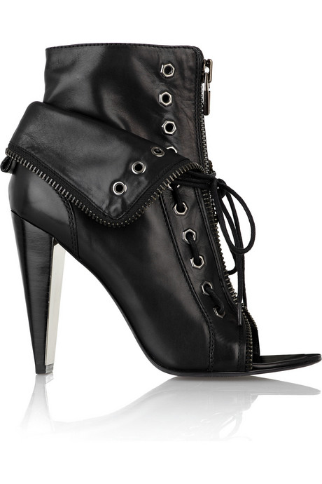 Alexander Wang Freja Laced Zip Boot Stiletto