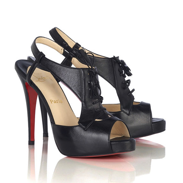 Christian Louboutin Sometimes shoe boots Black
