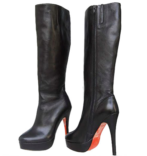Christian Louboutin Babel Plaform Knee Boot
