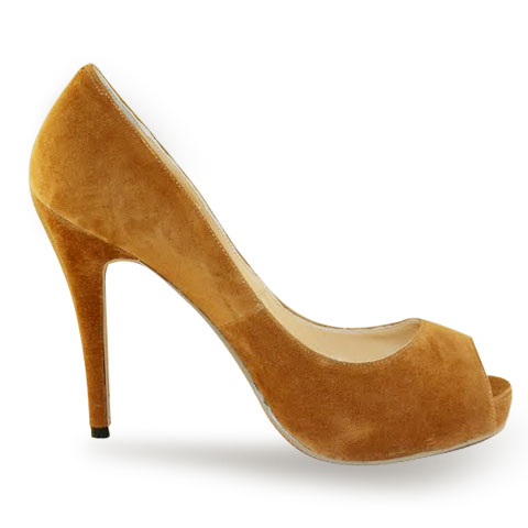 Christian Louboutin Hyper Prive 120 pumps Nutmeg