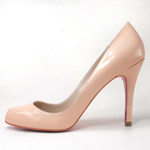 Christian Louboutin declic pumps pink